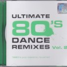 Ultimate 80's Dance Remixes Vol.2 1980's Pop Classics Revisited 2CD New EQ Dance