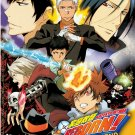 DVD Katekyo Hitman Reborn Vol.1-203End Complete Series Anime Box Set English Sub