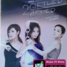 S.H.E 2Gether 4Ever World Tour Taipei Concert Karaoke 2DVD