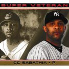 2014 Topps #SV-13 CC Sabathia New York Yankees Cleveland Indians Super Veterans