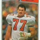 1987 Topps #257 Rick Bryan Atlanta Falcons