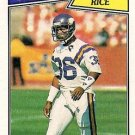 1987 Topps #201 Allen Rice Minnesota Vikings