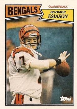1987 Topps #185 Boomer Esiason Cincinnati Bengals