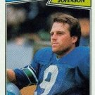 1987 Topps #179 Norm Johnson Seattle Seahawks