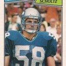 1987 Topps #178 Bruce Scholtz Seattle Seahawks