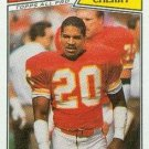 1987 Topps #171 Deron Cherry Kansas City Chiefs
