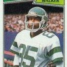1987 Topps #132 Wesley Walker New York Jets
