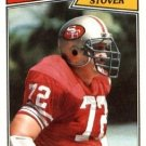 1987 Topps #119 Jeff Stover San Francisco 49ers