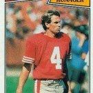1987 Topps #118 Max Runager San Francisco 49ers