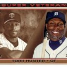 2014 Topps #SV-5 Torii Hunter Minnesota Twins Detroit Tigers Super Veterans