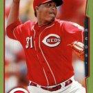 2014 Topps #21 Alfredo Simon Cincinnati Reds green parallel