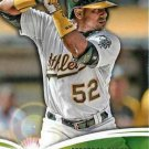 2014 Topps #FN-14 Yoenis Cespedes Oakland A's Future is Now