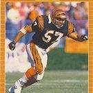 1989 Pro Set #61 Reggie Williams Cincinnati Bengals