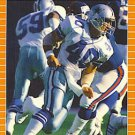1989 Pro Set #87 Bill Bates Dallas Cowboys