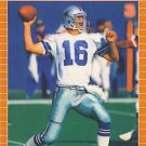 1989 Pro Set #95 Steve Pelluer Dallas Cowboys