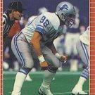 1989 Pro Set #126 Dennis Gibson Detroit Lions
