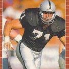1989 Pro Set #190 Bill Pickel Los Angeles Raiders