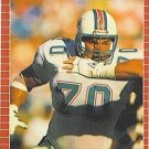 1989 Pro Set #224 Brian Socha Miami Dolphins