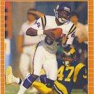 1989 Pro Set #230 Hassan Jones Minnesota Vikings