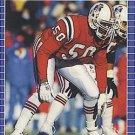 1989 Pro Set #254 Lawrence McGrew New England Patriots
