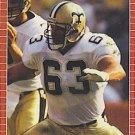 1989 Pro Set #264 Brad Edelman New Orleans Saints