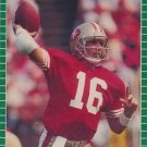 1989 Pro Set #381 Joe Montana San Francisco 49ers