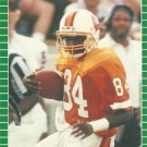 1989 Pro Set #417 Bruce Hill Tampa Bay Buccaneers