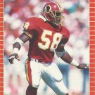 1989 Pro Set #482 Wilber Marshall Washington Redskins
