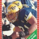 1989 Pro Set #510 Tom Ricketts Pittsburgh Steelers RC