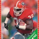 1989 Pro Set #511 Tim Worley Pittsburgh Steelers RC