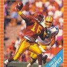 1989 Pro Set #521 Rodney Peete Detroit Lions RC