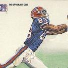 1991 Pro Set #406 Andre Reed Buffalo Bills Pro Bowl