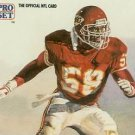 1991 Pro Set #420 Derrick Thomas Kansas City Chiefs Pro Bowl