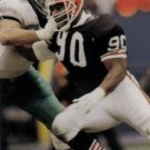 1991 Pro Set #471 Rob Burnett Cleveland Browns