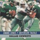 1991 Pro Set #480 Jimmie Jones Dallas Cowboys