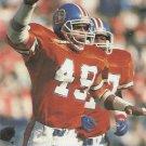 1991 Pro Set #495 Dennis Smith Denver Broncos