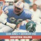 1991 Pro Set #518 Sean Jones Houston Oilers