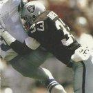 1991 Pro Set #542 Eddie Anderson Los Angeles Raiders
