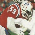 1991 Pro Set #578 Vincent Brown New England Patriots