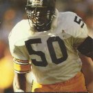 1991 Pro Set #635 David Little Pittsburgh Steelers