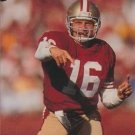 1991 Pro Set #653 Joe Montana San Francisco 49ers