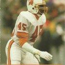 1991 Pro Set #671 Wayne Haddix Tampa Bay Buccaneers