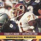 1991 Pro Set #680 Charles Mann Washington Redskins
