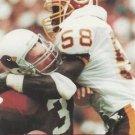 1991 Pro Set #681 Wilber Marshall Washington Redskins