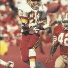 1991 Pro Set #684 Ricky Sanders Washington Redskins