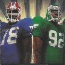 1991 Pro Set #691 Buffalo Bills v. Philadelphia Eagles American Bowl Newsreel