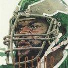 1991 Pro Set #695 Carl Hairston Philadelphia Eagles Legend