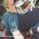 1991 Pro Set #718 Bill Parcells Lawrence Taylor New York Giants Photo