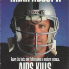 1991 Pro Set #725 Howie Long Los Angeles Raiders Think About It