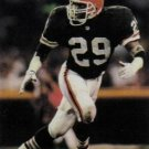 1991 Pro Set #731 Eric Turner Cleveland Browns RC
